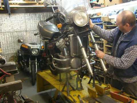 Cx500 Frame & motorblok