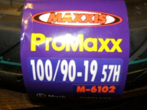Maxxis band 100-90-19