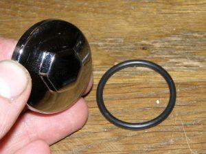 inspectie dop chrome met O ring