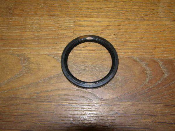 Keer ring voor wiel naast de meenemer.