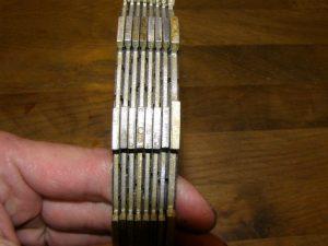 Koppelingsplaten voor een GL650 CX650 CX650C
