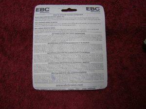 Remblokken voor de CX500 CX500c