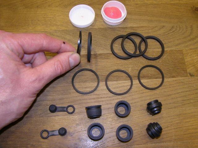 Cx500 slijtage onderdelen