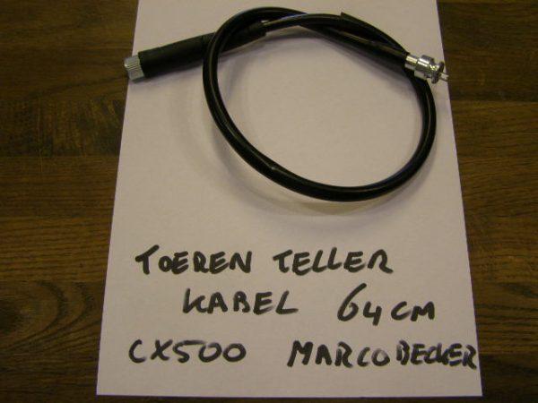 toeren teller kabel 64 cm lang Geschikt voor GL500 GL650 CX500E CX650E CX500 CX500C