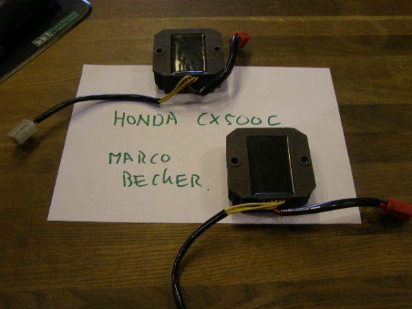 Spanningsgelijkrichter voor de CX500c custom model