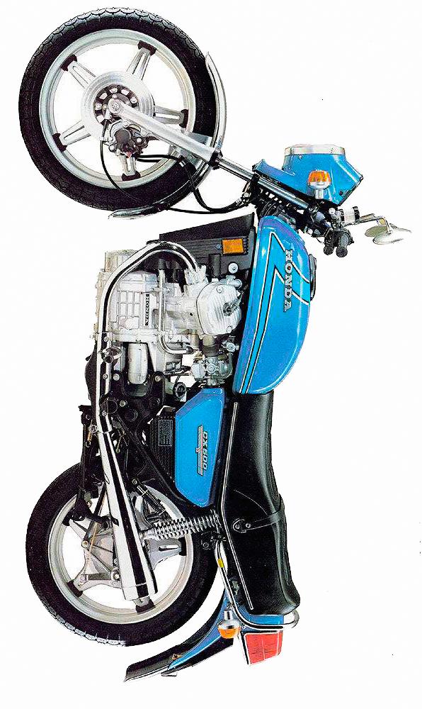 cx500 custom bike