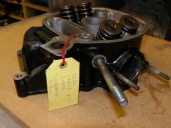 cilinderkop links gl650 cx650e cx650c
