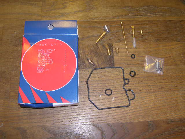 carburateur pakking set gl500 cx500e cx500c