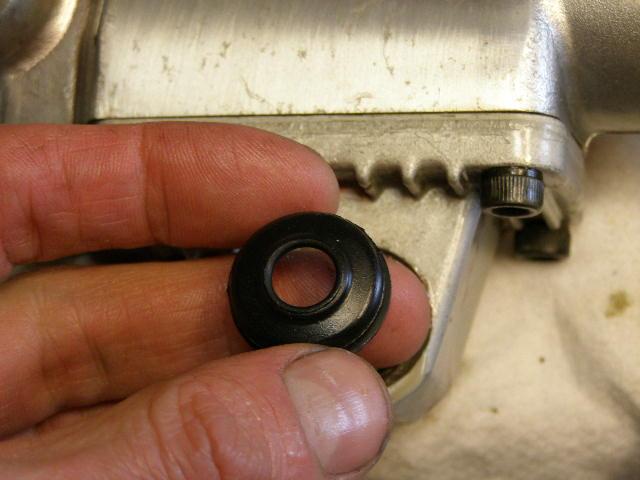 anti dive rubber linker voorpoot cx500e cx650e
