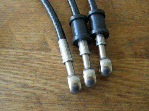 rem leiding staal flex zwart gl500