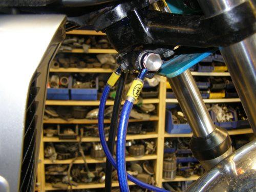 hel staal flex rem leidingen cx500 laag stuur