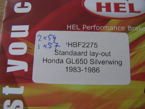rem leiding staal flex hel grijs silverwing gl650