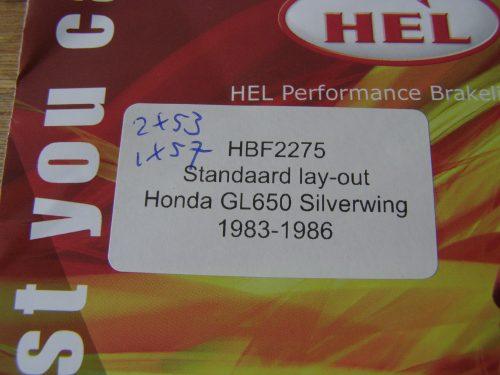 rem leiding staal flex hel zwart gl650 silverwing