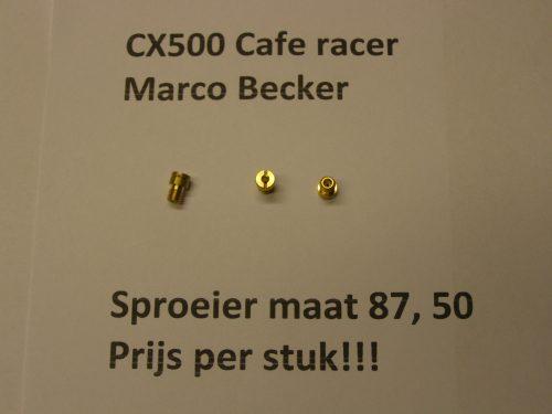 sproeier maat 87,50 cx500 cx500c cx500e gl500 sproeier cafe racer