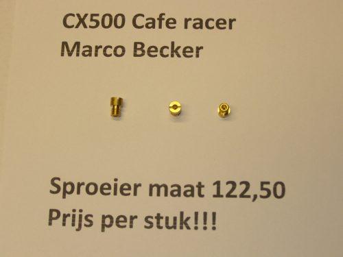 sproeier maat 122,50 sproeier cx500 cx500c gl500 cx500e cafe racer