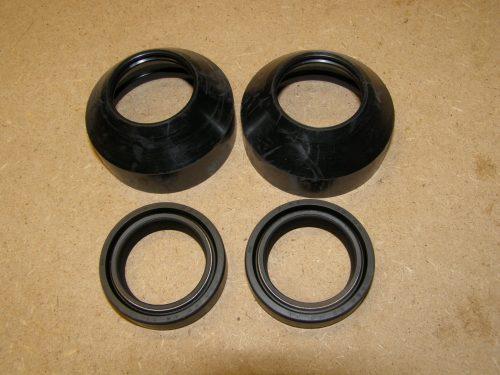 Voorvork keerring stofkap set cx500 33mm voorpoot